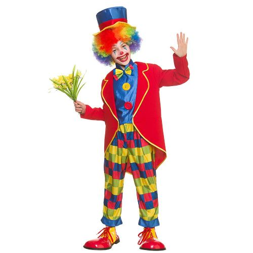 Boys Circus Clown Costume for Carnival Clown Parade Funfair Fancy Dress
